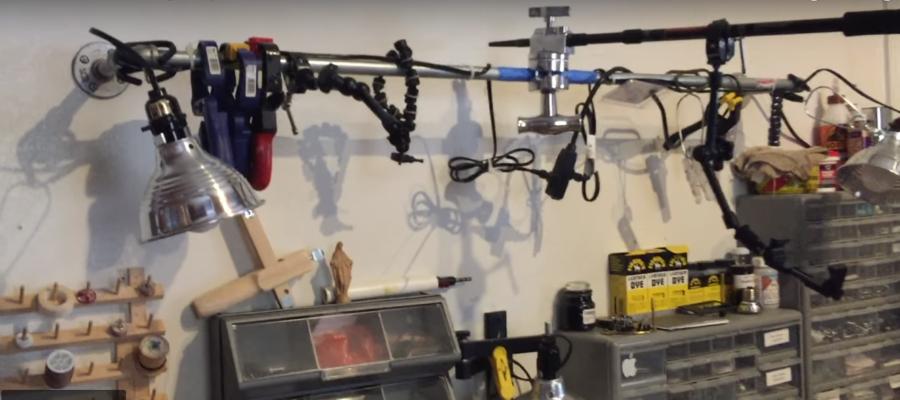 Overhead Camera RIG Easy DIY
