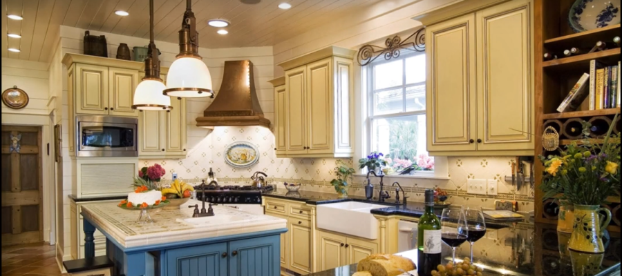 French Kitchen Design; Home Interior Remodeling