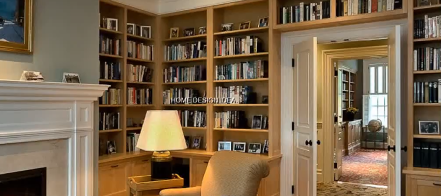 HOME REMODELING WITH A HOME LIBRARY