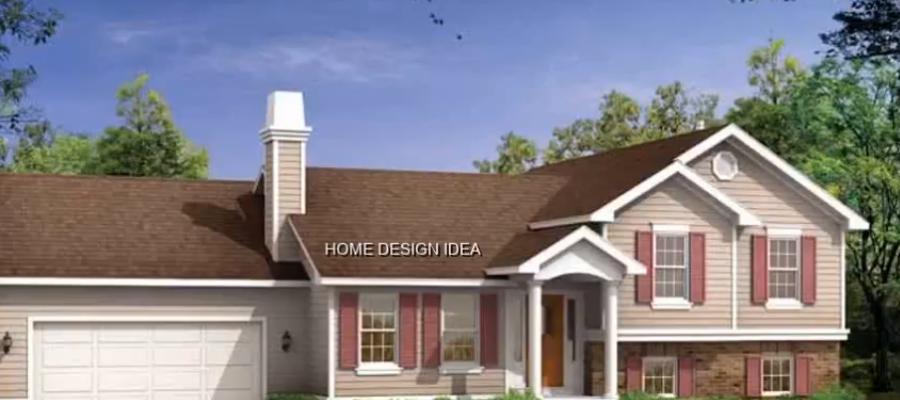 SPLIT LEVEL HOME EXTERIOR DESIGN IDEAS