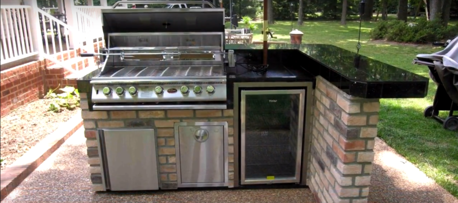 Great Outdoor Kitchen Design Ideas; Home Remodeling Interesting Projects