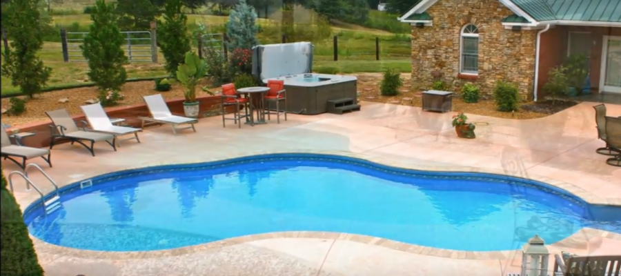 Modern Backyard Landscaping Great Ideas For Home Remodeling With Pool Design; Home Remodeling Tips